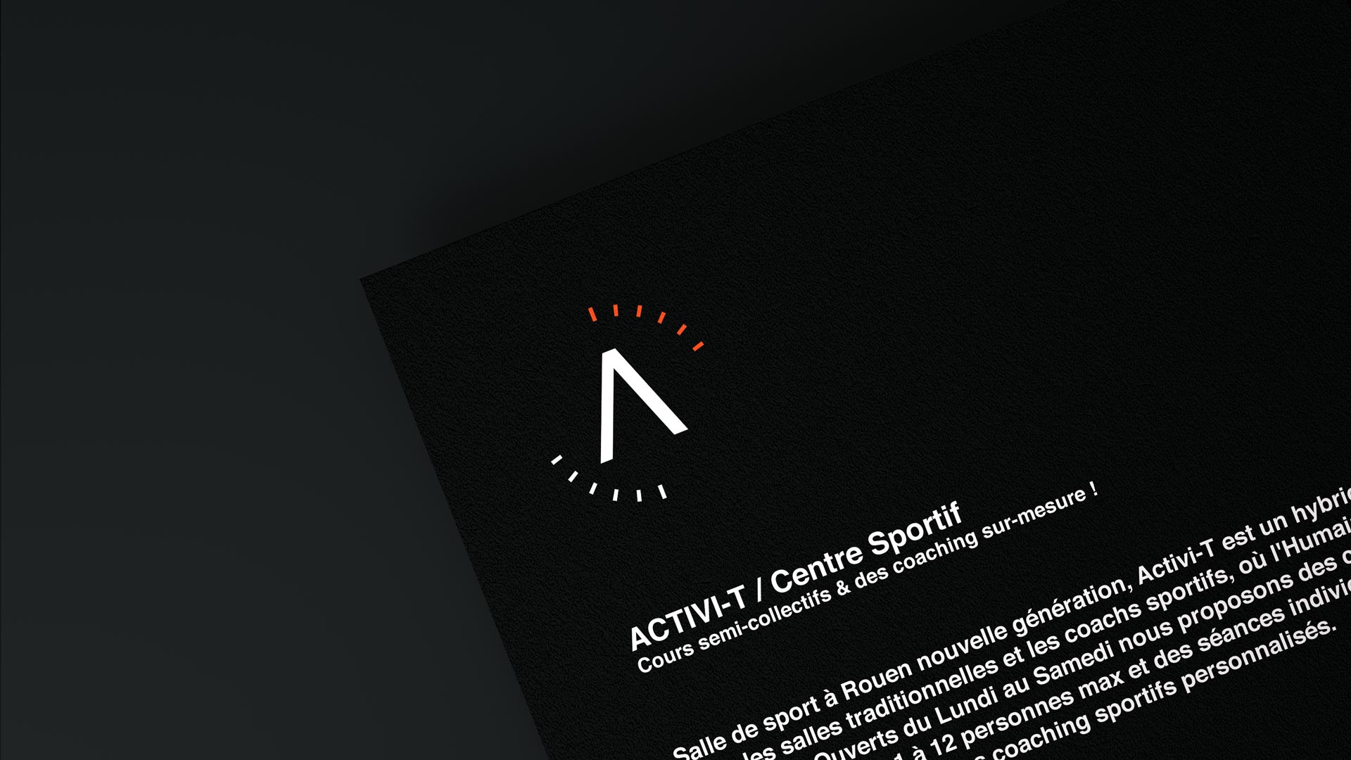 Activi-t / Branding & Supports print